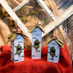 Holly Bird House